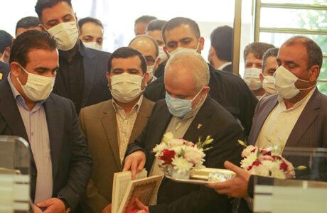 افتتاح دفتر مرکزی شرکت بیژن با حضور معاون رئیسجمهور