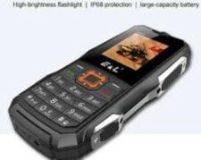 گوشی e&l مدل K6900 ضد آب و ضربه