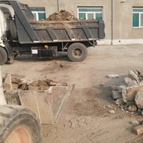 حمل نخاله و مصالح ساختمانی