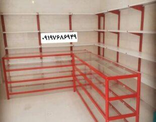 قفسه فلزی مغازه و فروشگاه و انبار
