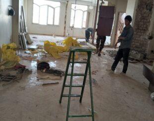 تخریب داخل ساختمان ازصفرتاصددرهمه جای تهران باحمل نخاله
