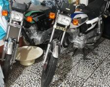 دو عدد موتور سیکلت احسان 200 ازما 125
