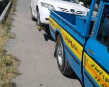امداد خودرو یدکش اتوبان ساوه