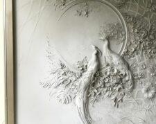 اجرای گچ نقش برجسته مدرن ، نقاشی کلاسیک سقفی و دیواری