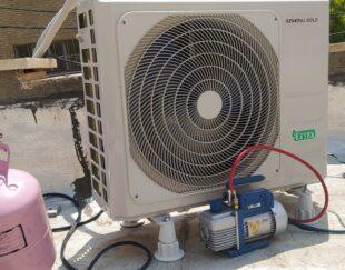 نصب نصاب تعمیر تخصصی کولر گازی شارژ گاز کولرگازی