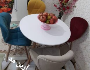 میز و صندلی نهارخوری پایه ایفلی